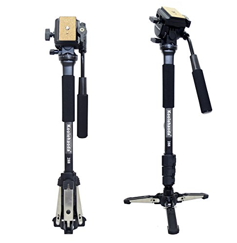 Koolehaoda-Professional-Camera-aluminium-Monopied-Tte-vido-fluide-avec-Folding-trois-pieds-de-soutien-Stand-Max-582-0-1
