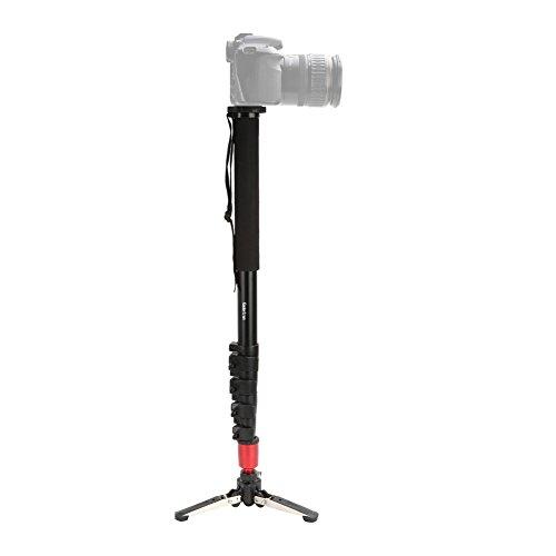 Koolertron-Professionnel-Camra-Manfrotto-Monopode-en-Aluminium-avec-Trois-Pieds-de-Support-Stand-Pliant-et-Sac-de-Transport-4-Sections-Hauteur-maximum-190cm-pour-Appareil-Photo-Tout-Canon-Sony-Nikon-7-0-1
