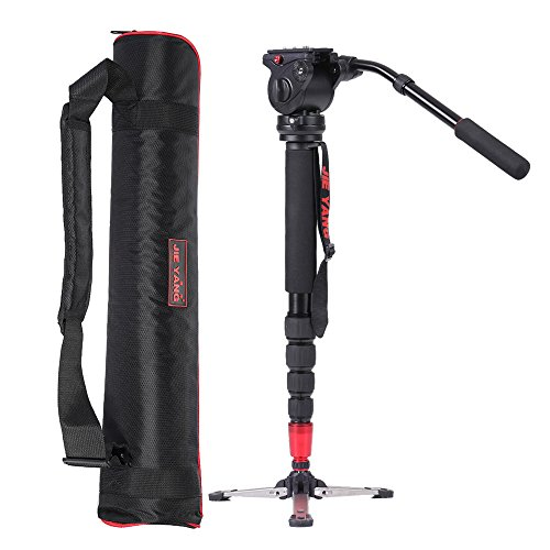 Andoer-JY0506-Professionnel-aluminium-alliage-monopode-avec-tte-fluide-pour-ILDC-DSLR-camra-camscope-DV-Pocket-Camera-capacit-de-poids-maximum-4kg-0-1